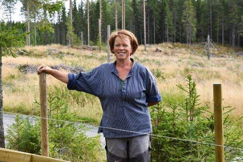 KRITISK TIL STØTTE: Kjersti Røhnebæk og Senterpartiet er kritiske til å støtte årets TV-aksjon på grunn av WWFs holdning til rovdyr.