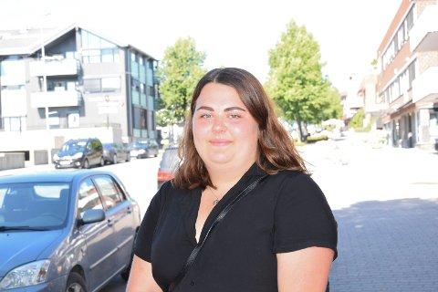 VAR UTVEKSLINGSSTUDENT: Gina Simensen (19) fra Moelv var utvekslingsstudent i byen Watertown i delstaten New York.