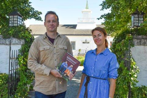 """FORFATTERE: Andreas Viestad og Charlotte Holverg Sveinsen har begge skrevet flere kokebøker tidligere. Nå er de aktuelle med boka """"Gårdsmat - fra hjertet av Norge""""."""