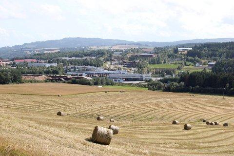 Jernbane: En framtidig aktuell jernbane over Rudshøgda vil koste matjord. Det kan ikke skjer slik helt uten videre, melder jordvernalliansen.