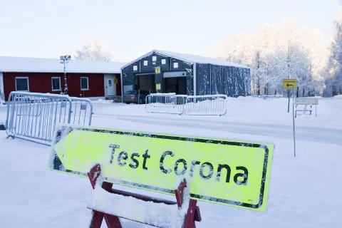 Teststasjonen i Ottestad.