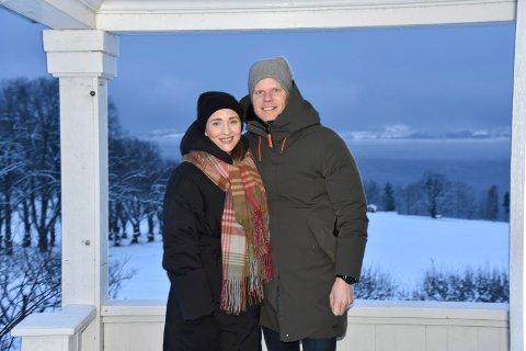 HAR TATT OVER: Nye utfordringer venter for Christian Fredrik Sandberg og Sabine Sønstebø.