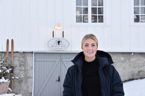 MARKEDSSJEF: Stephanie Henning er markedssjef i Kvarstad Sjokolade.