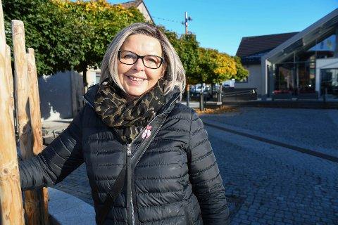 Erklært frisk: Lisbeth Sandvær fikk påvist brystkreft i desember i fjor. En mammografiundersøkelse avdekket sykdommen.