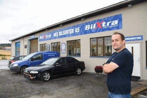 FRATRER: Mirsad Alagic er ikke lenger daglig leder ved Nes Bilsenter.
