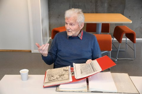 Per Dobloug var i mange år aktiv i styre og stell i Høsbjøråsen skisenter. Han er klar på at anlegget etter hvert tapte kampen om alpinistene.
