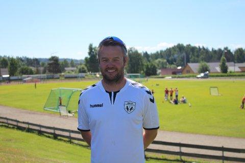 SPORTSLIG LEDER: Emil Brotangen, Moelven IL Fotball.