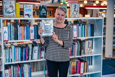 Litteraturuka: Biblioteksjef Mette Westgaard ønsker velkommen til årets litteraturuke.