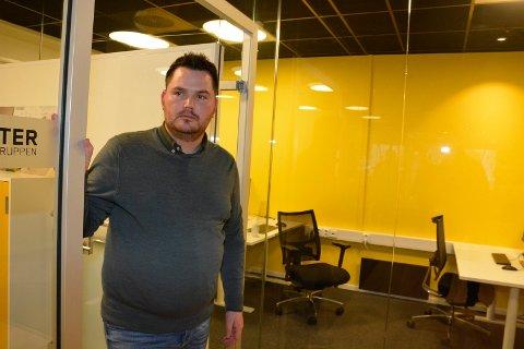 Vil unngå konkurs: Stian Grønbakken jobber for å unngå konkurs med Enter Gruppen
