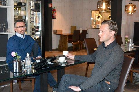 Vansker: Roar Øien og Emil Haugli har hatt mye å stri med det siste året.