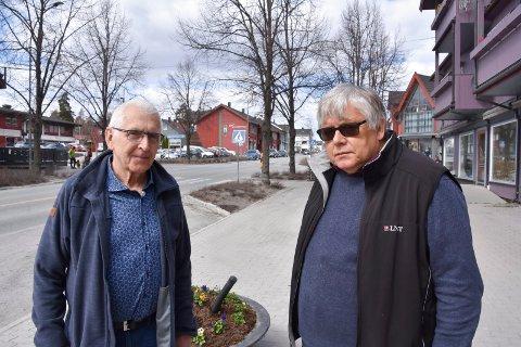 ENGASJERTE MODØLER: Leif Østmo (t.v.) og Ottar Korsnes.