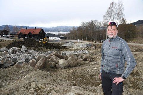 Byggeklar: Heggelund Bygg AS med Per Sigmund Heggelund i spissen bidrar til utvikling av Fjølstadmarka.