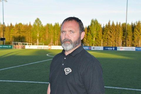 FORTVILET: Styreleder Vegard Engebretsen i Furnes Fotball.