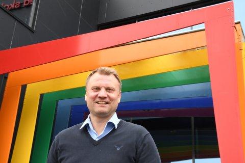 Ny jobb: Lars Erik Pedersen går fra jobben som assisterende rektor på Mørkved til jobben som rektor på Kirkenær skole.