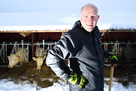 VOKSER: Øystein Snuggerud, administrerende direktør i Næringsbanken, som blant annet har mange landbrukskunder, vokser videre. Nå har banken hentet 120 nye millioner i en emisjon.