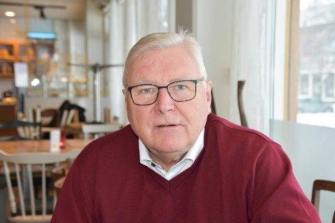 LEDER: Jan Torkehagen i Ringsaker Ap. Bildet er tatt ved en tidligere anledning.