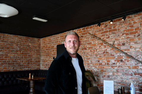 Klar for sommeren: Ny daglig leder er Stian Kalsnes (32).