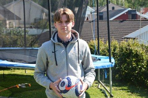 Ivrig: Thorbjørn Kristiansen setter seg store mål.
