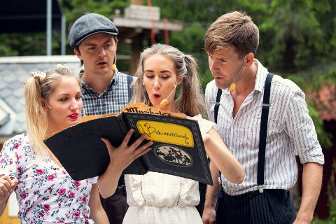 Sommer i Prøysen: Torsdag 1. juli starter seks uker med festivalmoro for store og små ved Prøysenhuset.