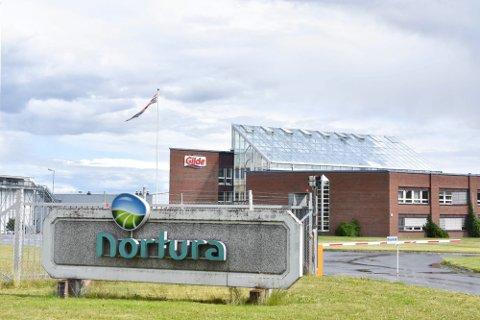 SLAKTERI: Norturas anlegg på Rudshøgda.