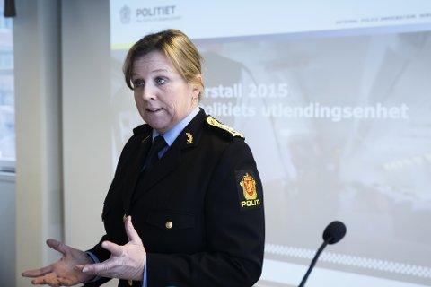 Kripos-sjef Kristin Kvigne fortalte tirsdag at tre fra Innlandet er tatt i den internasjonale politiaksjonen. Dette bildet er tatt i en annen sammenheng.