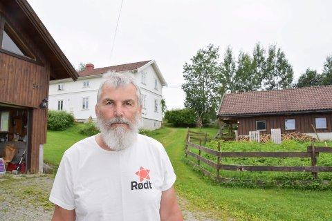 RØDT-POLITIKER: Terje Jektvik.