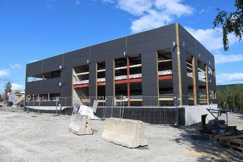 NYBYGG: Litra AS forlater Lillehammer og etablerer nytt hovedkontor på Rudshøgda.