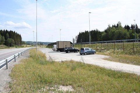 Parkering: På parkeringen ved Pellerviken var det god plass i helga meldes det.