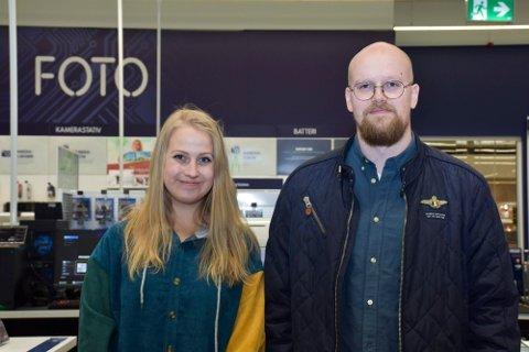 NYTT SELSKAP: Johanna Katarina Cederstrøm og Ole Anders Danielsen har startet Herja AS.