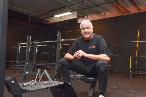 SATSER: Knut Hanstad fra Elverum åpner sitt tredje treningssenter.