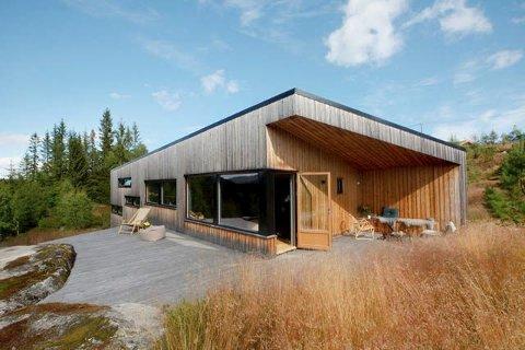 POPULÆRT: I Buskerud finner vi over 50.000 fritidseiendommer, som denne på Skarrudåsen på Vikerfjell.