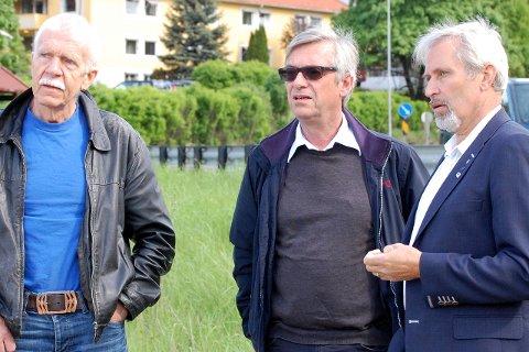 Velgerne i Hole ga Jan E. Lyng,  Sjur Tandberg, Per R. Berger og flere godt voksne menn fornyet tillit.