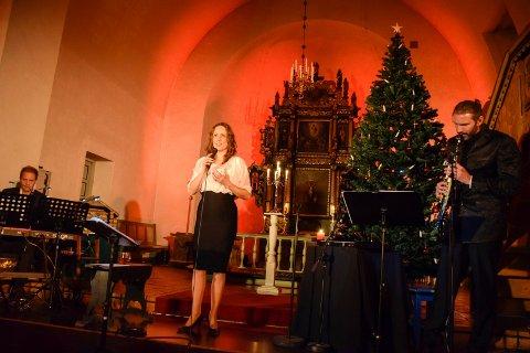 Vokalist Kristin Bjerkerud, pianist Håvard Mandt og saksofonist Tormod Melaas-Holm.