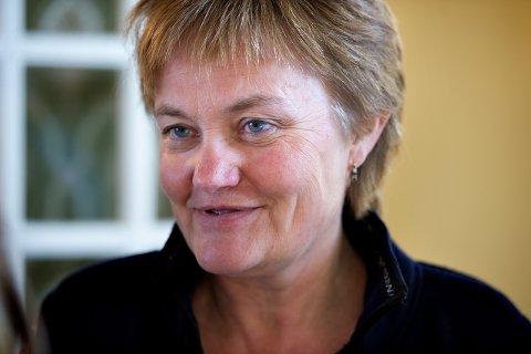 Stortingsrepresentant Rigmor Aasrud (Ap) tar opp ny E16 Eggemoen-Olum i Stortinget tirsdag.