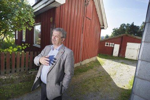 Ordfører Kjell B. Hansen vokste opp på Blyberghaugen.