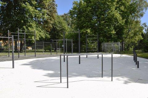 Tufteparken i Søndre park godkjennes trolig og åpner fredag ettermiddag.