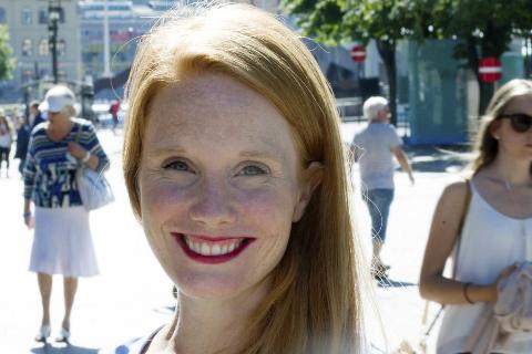 Kampanjen «Kvinner inn» har skapt stor medieinteresse, og redaktør og trebarnsmor Susanne Kaluza løper fra intervju til intervju.
