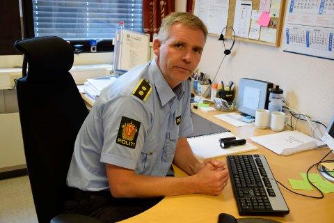 Politioverbetjent Christian Berge.