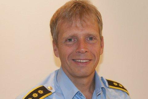 – Det var litt tilfeldig at jeg havnet i politiet, men jeg trives godt og er fornøyd med valget, sier Kjell Magne Tvenge.