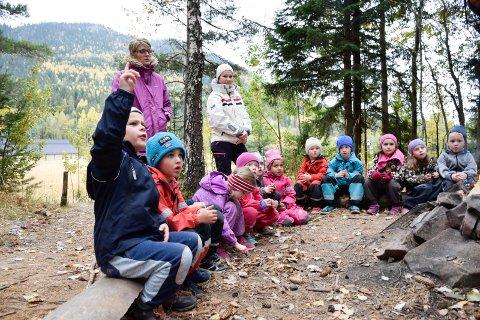 Språkdag for alle 5-åringer i Holes barnehager. Turbingo.