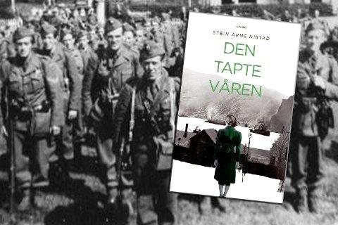 """Boken er en frittstående oppfølger etter forfatterens første, """"Seks dager i april"""". (Illustrasjonsfoto i bakgrunnen)"""