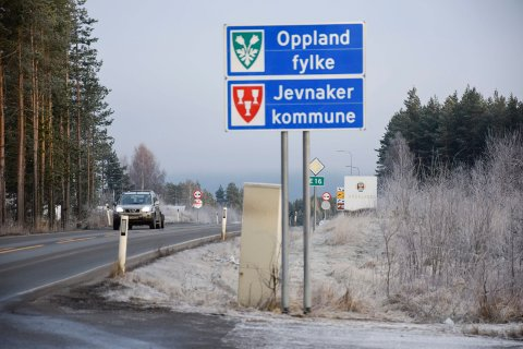 Hadeland Jevnaker Oppland fylke kommunesammenslåing.