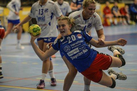 Viktig: Tirill Solumsmoen Mørch kan bli en viktig brikke for HSK i kampen om å berge plassen i 2. divisjon etter nyttår. 16-åringen viste at hun kan bli en verdifull spiller for 2. divisjonslaget i jakten på fornyet kontrakt.