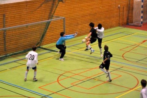 Idrettslinjeelevene arrangerer Ringeriksnatten i februar. Her fra en tidligere utgave av turneringen.