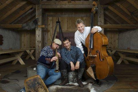 Fredrik Øie Jensen, Per Vollestad og Svein Olav Blindheim er «Gutta på skauen».