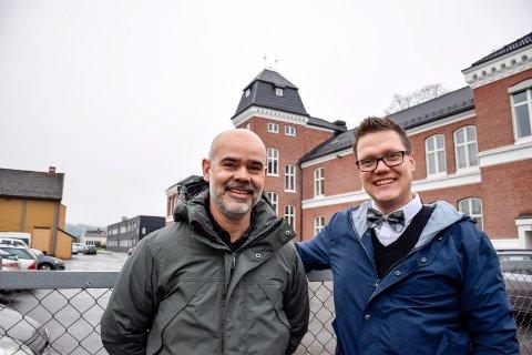 Tor Kristian Sørensen (til venstre) og Stig-Endre Tryggestad Elvevoll i Kraftcentralen møtte et internasjonalt fagmiljø for å fortelle om sine erfaringer.