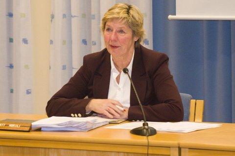 Rådmann May-Britt Nordli ba politikerne tenke på at de skal velge en kommunestruktur for framtida. Den skal løse også framtidige oppgaver kommunene får.