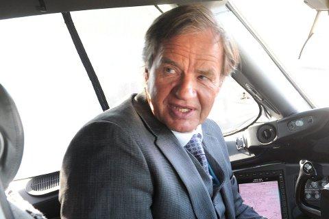 Bjørn Kjos fra Sokna er sjef i Norwegian.