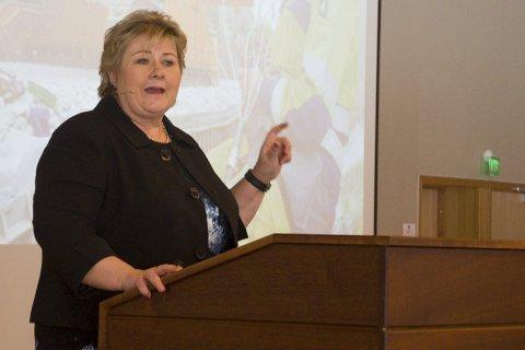 Statsminister Erna Solberg (H) lover stramt statsbudsjett for 2019. Og det vil ikke bli lagt opp til skattelettelser.