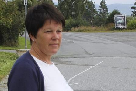 SLUTTER: Rektor ved Veien skole, Bente Tandberg, går av med pensjon i sommer.